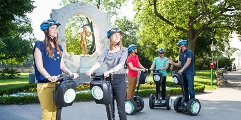 Pedal Power - Special tour -  Segway